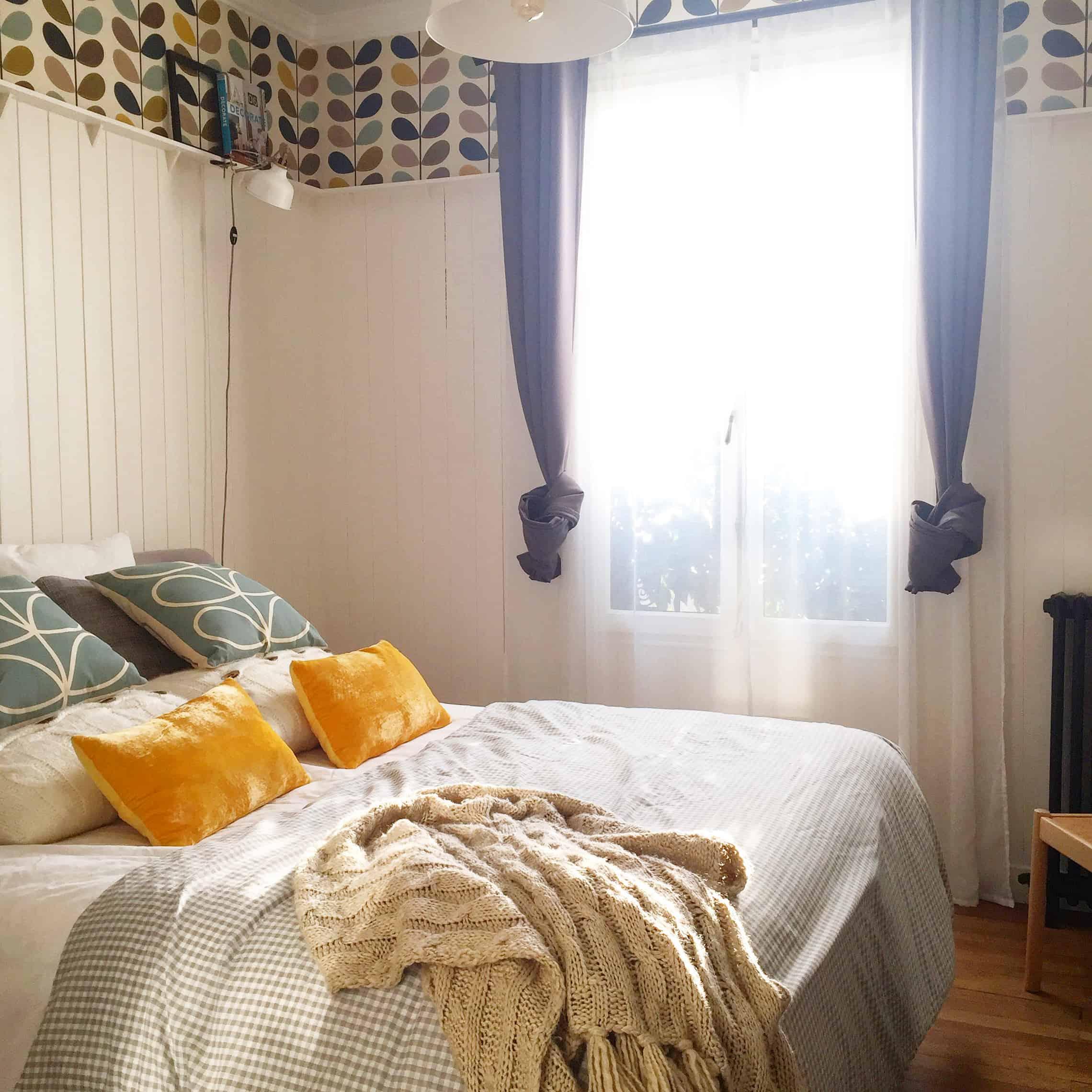 Les couleurs à choisir dans la chambre pour une ambiance douce