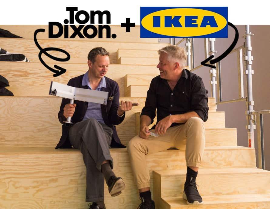 ikea tom dixon une collaboration surprise et tonnante. Black Bedroom Furniture Sets. Home Design Ideas