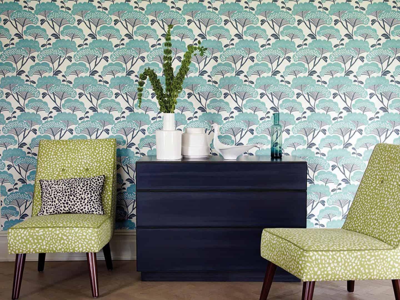 d co murale et papier peint la folie des imprim s pour 2017. Black Bedroom Furniture Sets. Home Design Ideas