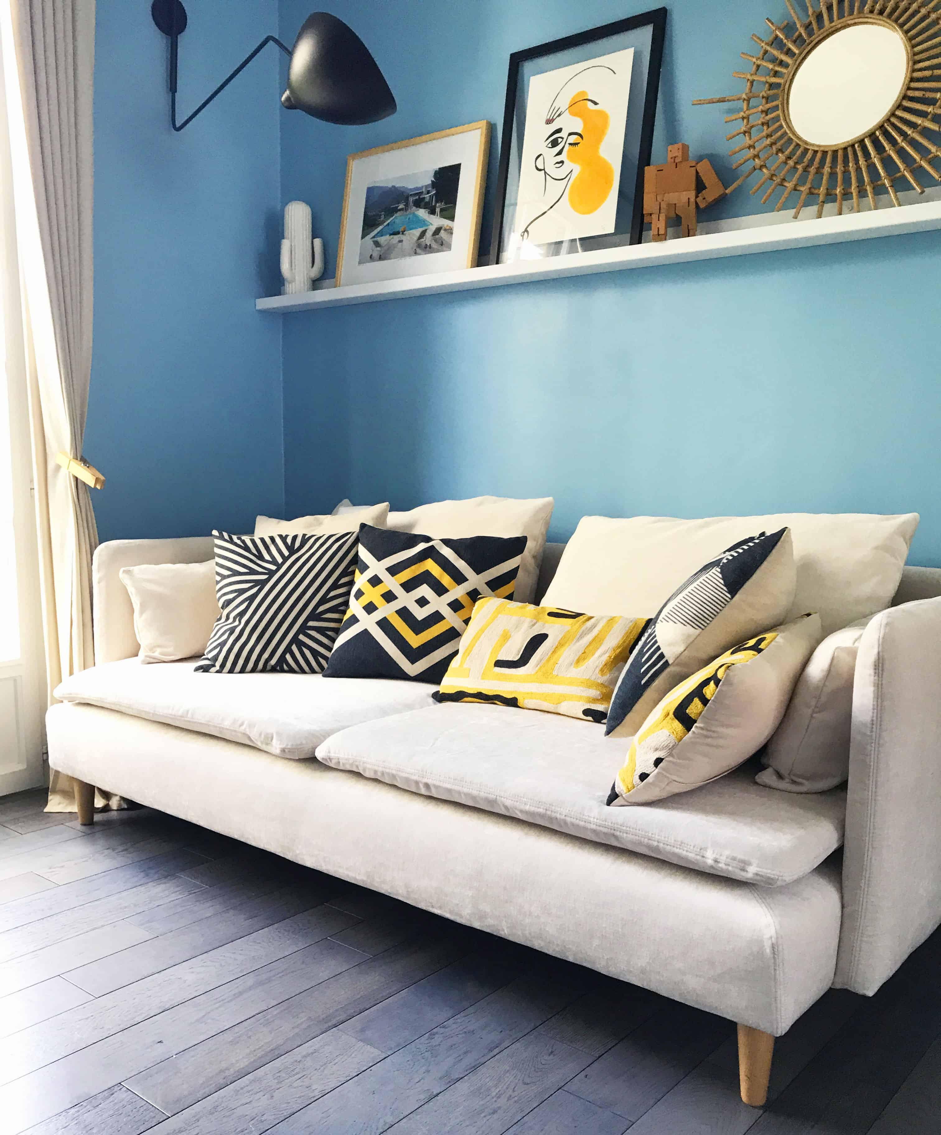 changer sa housse de canap ikea avec bemz. Black Bedroom Furniture Sets. Home Design Ideas