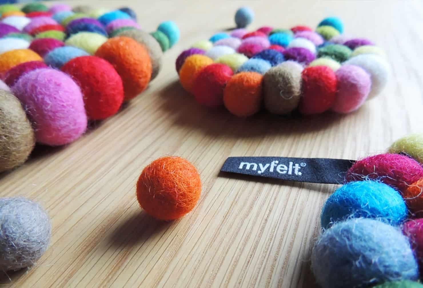Myfelt, des créations feutrées et colorées!