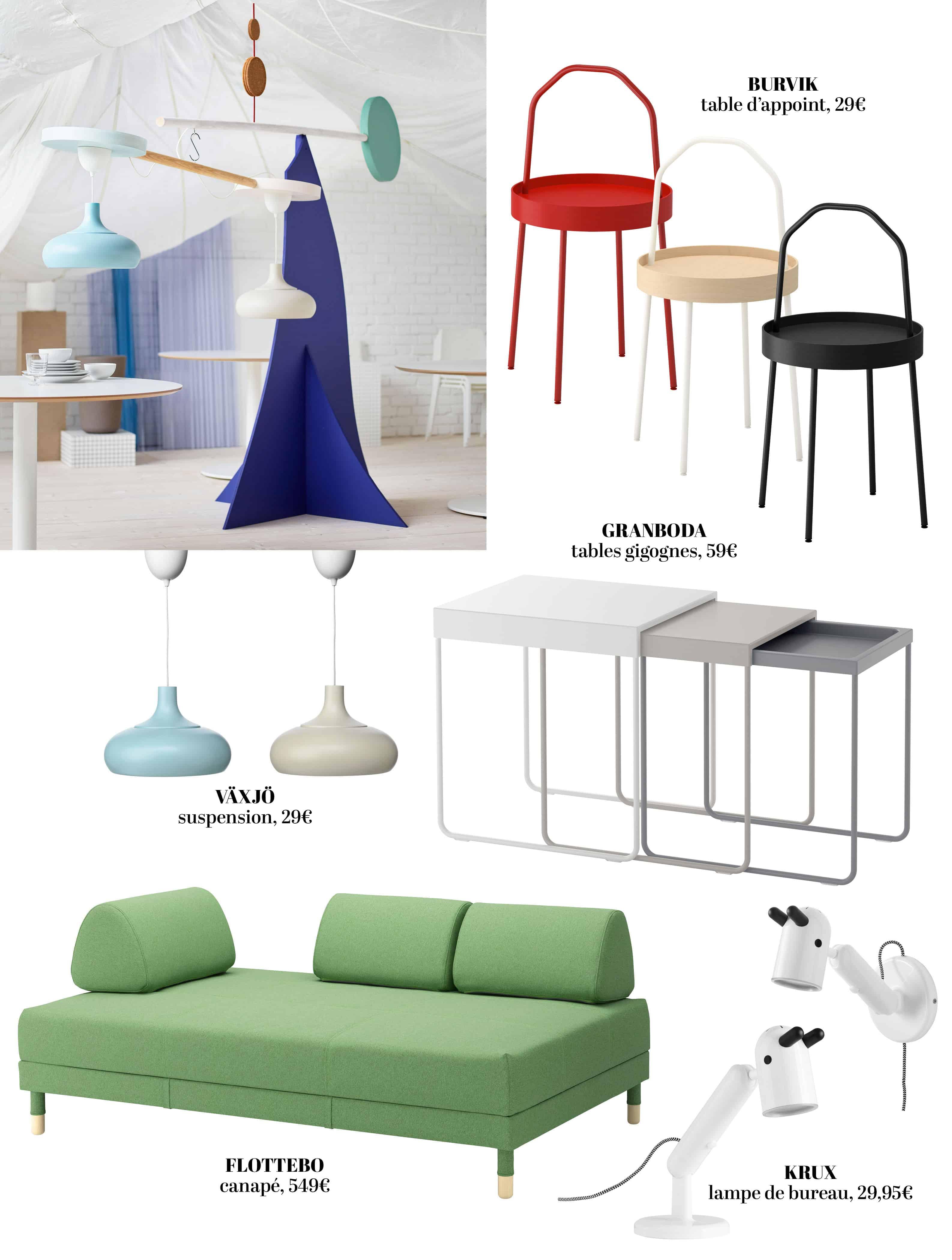 Nouveaux chez IKEA pour fevrier 6. Concepts astucieux !