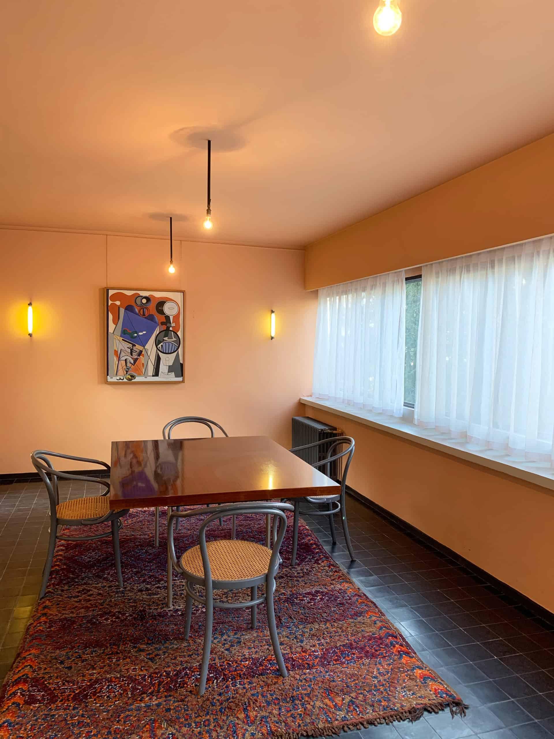 Visite Maison La Roche - Le Corbusier - Salle à manger