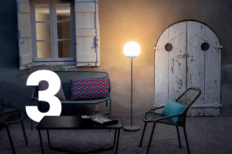 Lampe extérieur - lamp outdoor _ Fermob
