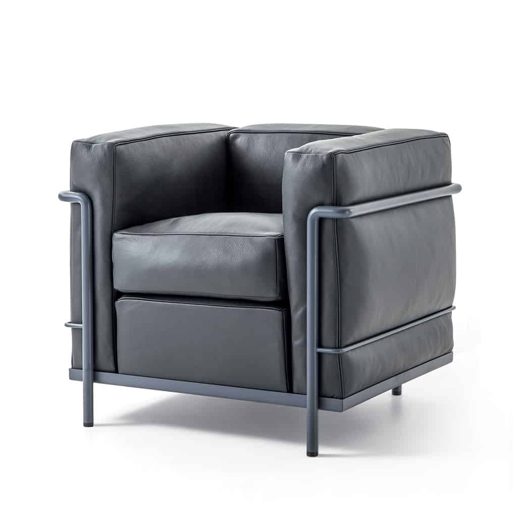 FAUTEUIL LC2 - LE CORBUSIER, JEANNERET, PERRIAND - CASSINA