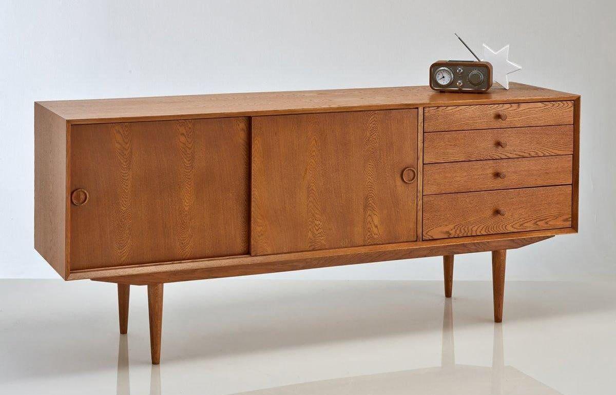 Meuble Buffet Année 50 l'enfilade : le meuble phare du style nordique !
