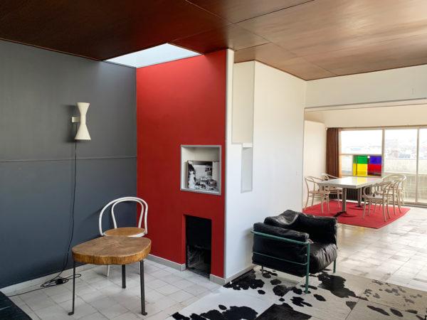 Visite appartement-atelier Le Corbusier