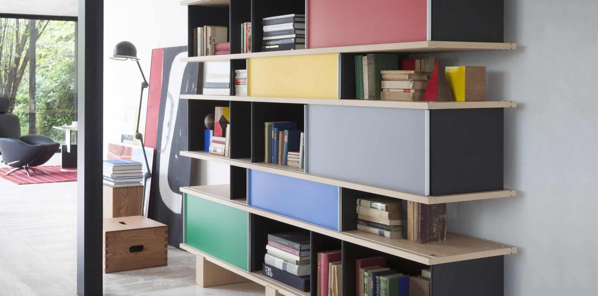 526 Nuage bibliothèque - Charlotte Perriand - Cassina
